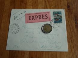 Enveloppe Timbrée - EXPRES - SCEAUX 1967. Trésorerie Somme à AMIENS - Autres