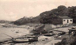 CP- GUETHARY-  Le Port Et La Plage- - Guethary