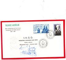 Pli De 1980 ( I.A.G.O.) Interaction Atmosphere Glace Ocean ) - Cartas