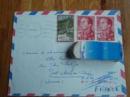 Enveloppe Timbrée  De La Grèce - Le Roi Paul,   En Autre. 1962 - Grèce