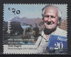 Nepal (2019) - Set -  /   Geologist - Toni Hagen - Montagnes - Mountains - Montañas - Géologie