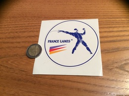 AUTOCOLLANT, Sticker «FRANCE LAMES » (escrime) - Pegatinas