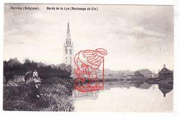 PK Wervik Wervicq - Au Bords De La Lys De Leie / Rouissage De Lin Het Roten V Vlas / St.-Medarduskerk / Ed. DeSwaene - Wervik