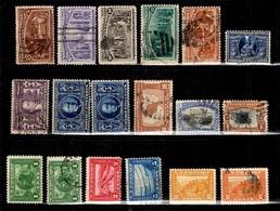 Etats-Unis Petite Collection De Bonnes Valeurs Oblitérées 1893/1920. B/TB. A Saisir! - Collections