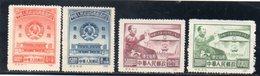 CHINE DU NORD EST 1950 SANS GOMME - Chine Du Nord-Est 1946-48
