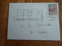 Petite Enveloppe Timbrée 1965 Flamme D'ABBEVILLE - Autres