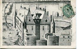 Château De VANDY D'après Une Vieille Estampe - Francia