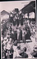 Chemin De Fer Suisse France, Locomotive Française, Manifestation, Inauguration D'une Ligne Canton De Nenchâtel ? (187) - Gares - Avec Trains