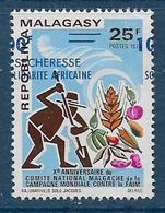 MADAGASCAR  -  N° 530 * * - Surcharge à Cheval -  Cote  : ? € - Madagascar (1960-...)