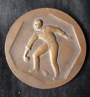 Médaille, Récompense De Concours De Boules, Bronze, Prix CINZANO - Très bon état - Bocce