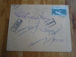 Enveloppe Timbrée  De1954 - Autres