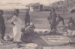 Distribution De Vivres Au Village Sénégalais - Morocco