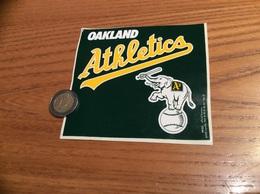 AUTOCOLLANT, Sticker «OAKLAND Athletics - A's » (Baseball, Etats-Unis, USA, Éléphant) - Pegatinas
