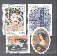 France Oblitérés : Musée De La Poste - Mme De Maintenon - N° 5301 & N°5302 (cachet Rond) - Francia