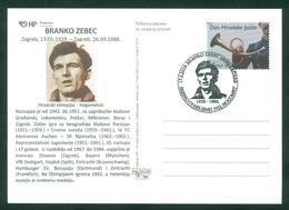 Croatia 2019 Olympics Football Branko Zebec Helsinki Silver Medal - Croazia