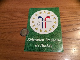 AUTOCOLLANT, Sticker «FFH - Fédération Française De Hockey » - Pegatinas