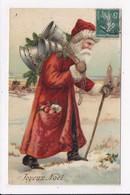 CP JOYEUX NOEL  Père Noël - Noël