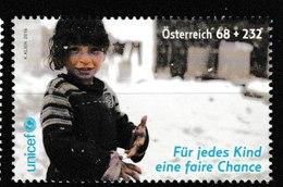 E 202) Österreich 2016 Mi# 3249 **: UNICEF, Für Jedes Kind Eine Faire Chance - Organisaties