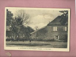 CPA - St Etienne Les Remiremont -(Vosges) - Le Saint Mont ( Cachet Sur Le Devant ; Souvenir Du Saint Mont ) - Saint Etienne De Remiremont