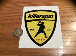 AUTOCOLLANT, Sticker «killerspin - MMI XLI» (logo, Tennis De Table, Ping-pong) - Pegatinas