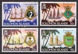 British Solomon Islands Used Set - Ships