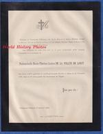 Document De 1894 - ODESSA / CHALON Sur SAONE - Mademoiselle Marie Thérèse Louise DE LA FOLLYE De LORCY - Décès