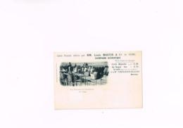 Carte Postale Offerte Par MM.Louis Martin & Co De Reims Champagne Authentique,les Vendanges En Champagne,le Triage, - Reims
