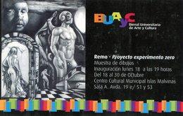 PRIMERA BIENAL UNIVERSITARIA DE ARTE Y CULTURA  PUBLICIDAD - NTVG. - Publicidad