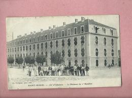 CPA Décollée , Abîmée - Saint Mihiel - 150e D'Infanterie - Le Bâtiment Du 2e Bataillon - Saint Mihiel