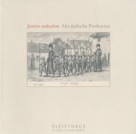 Prospekt Heft Alte Jüdische Postkarten Ansichtskarten CPA AK Judaica Judaika Juden Jewish Judaisme Synagogue Synagoge - Judentum