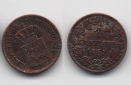 + BAVIERE  + 1 KREUZER  1867 + TRES TRES BELLE + - [ 1] …-1871 : German States