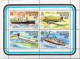 British Solomon Islands Used SS - Transport
