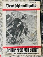 Weltmeister Albert Richter Köln / +1940 / Letztes Rennen !!! 9.Dez. 1939 !!!  Berlin Deutschlandhalle Radsport - Cyclisme