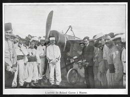 1938  --  AVIATION L ARRIVEE DE ROLAND GARROS A BIZERTE   3S570 - Vieux Papiers