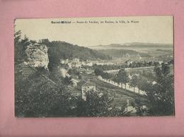 CPA - Saint Mihiel - Route De Verdun , Les Roches , La Ville , La Meuse - Saint Mihiel