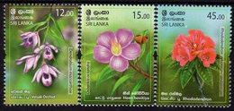 Sri Lanka - 2019 - Provincial Flowers Of Sri Lanka, Part II - Mint Stamp Set - Sri Lanka (Ceylon) (1948-...)