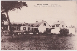 Bx - Cpa SAINTE HELENE - Longwood - Maison De L'Emperuer Napoleon Sauvée Des Termites - Ascension