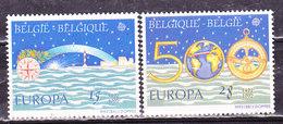 Europa 1992-Belgio-Scoperta Dell'America   -Serie Completa Nuova MNH** - Europa-CEPT