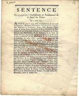 """TRES RARE 1733 Approvisionnement De Paris Bois MARINE NAVIGATION COMMERCE MARCHANDS  """"bois Flottés"""" PARIS SEINE - ... - 1799"""