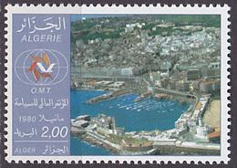 Timbre Neuf ** N° 721(Yvert) Algérie 1980 - Conférence Mondiale Du Tourisme, Alger - Algérie (1962-...)