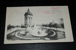 10250        MANNHEIM, WASSERTURM - 1901 / BAHNPOST STEMPEL - Mannheim