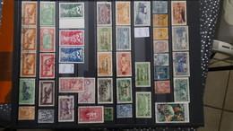 A327  Collection Des Anciennes Colonies Françaises Dont Bonnes Valeurs PA D'Andorre Côte Très Sympa. A Saisir !!! - Collections (with Albums)
