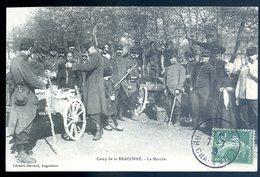Cpa Du 16 Camp De Braconne Le Marché DEC19-41 - Otros Municipios