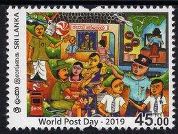Sri Lanka - 2019 - World Post Day - Mint Stamp - Sri Lanka (Ceylon) (1948-...)