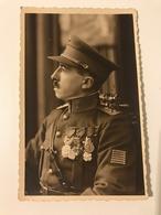 """Carte Postale Ancienne Soldat Avec Décorations """"Oncle Gustave"""" - Personaggi"""