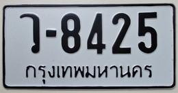 Plaque D'immatriculation - Thaïlande - - Plaques D'immatriculation