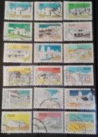 Portugal  1985-88  Arquitectura Poupular Portuguesa  (.50 Valor Em Negrito). Cote € 6.35 - 1910-... Republic