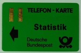 GERMANY - Aachen Trial - TA12all - Bundespost - Gold Chip - STATISTIK - With Control - Used - T-Series : Tests