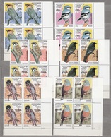 CAMBODGE Fauna Birds 1997 MNH Set X 4 Michel 1684-89 #816 - Collections, Lots & Series