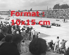 Reproduction D'une Photographie D'une Vue D'un Départ D'un Grand Prix De Formule 1 Aux Etats-Unis En 1959 - Reproductions